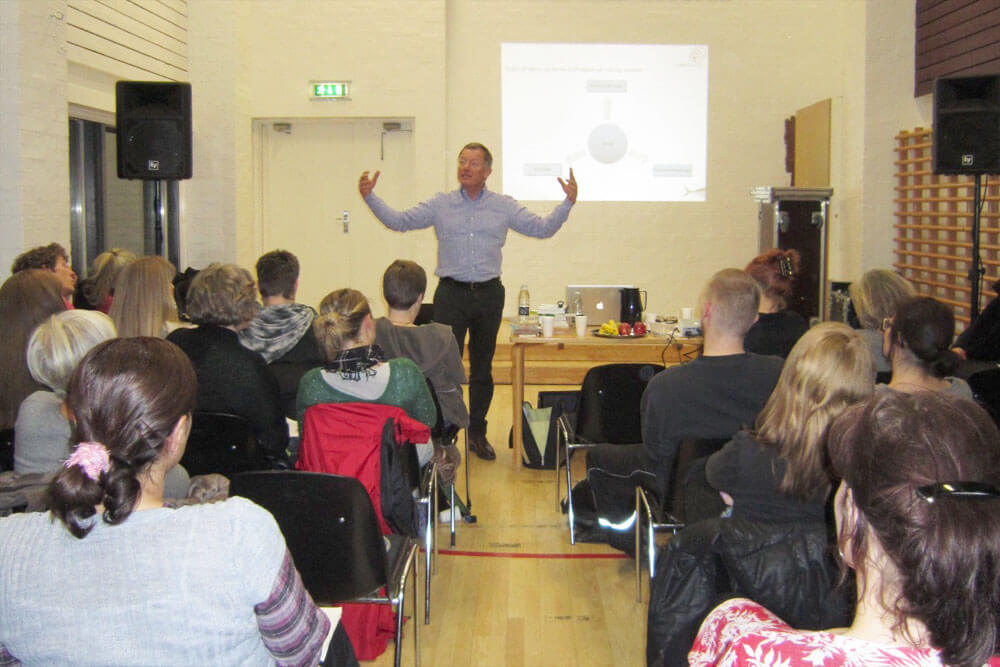 foredrag for sælgere
