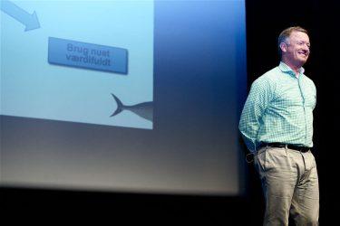 live foredrag noter fisken