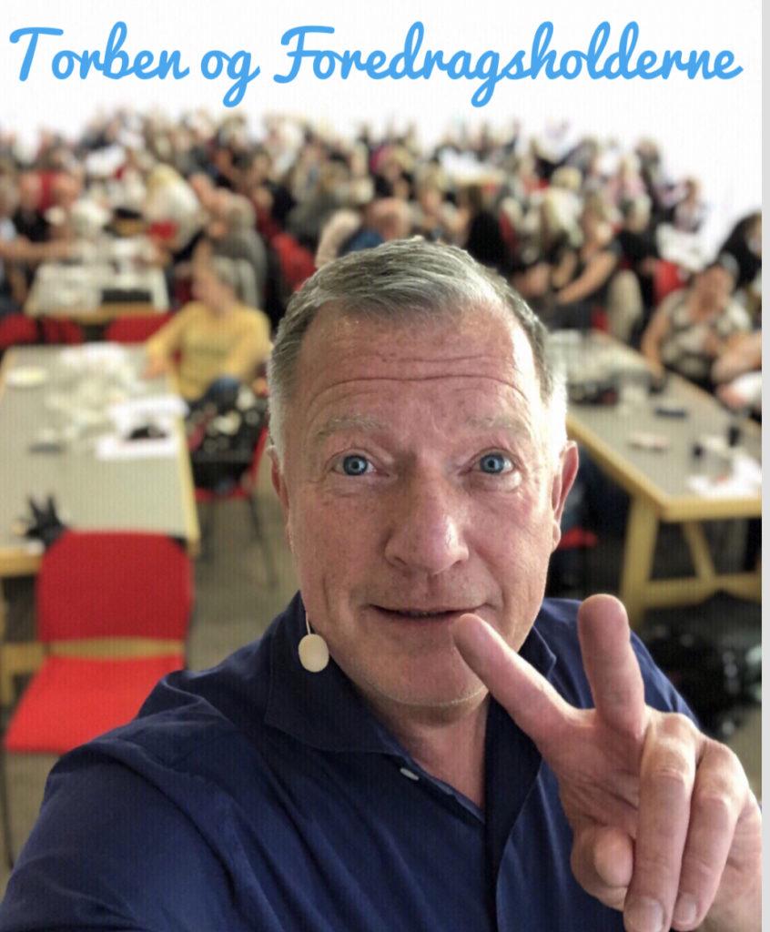 Torben Wiese har hver uge en inspirerende foredragsholder i studiet