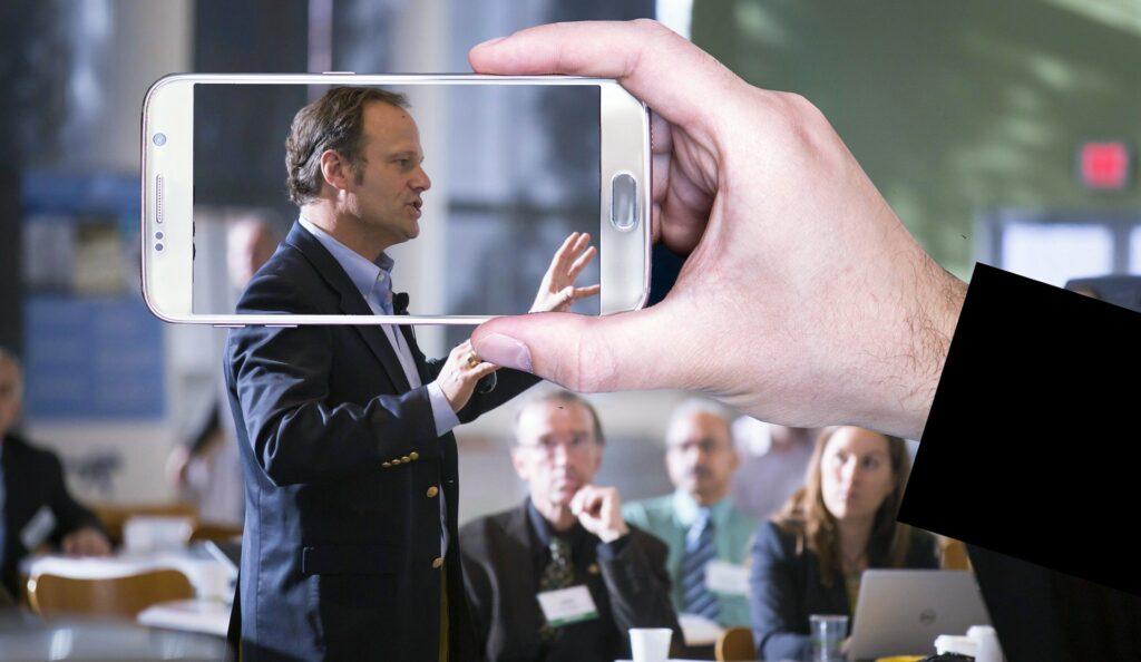 Foredragsholder i fokus